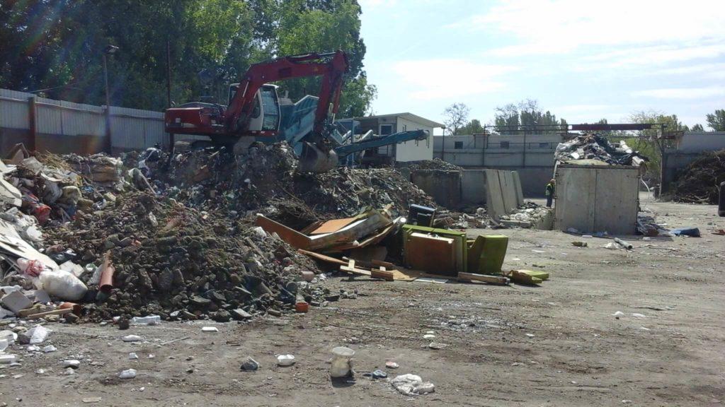hulladéklerakó Budapest